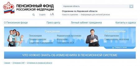 Личный кабинет в пенсионном фонде кировской области минимальный стаж для назначения пенсии по старости в 2021 году